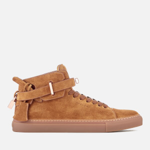 Buscemi Men's 100MM Suede Trainers - Terra