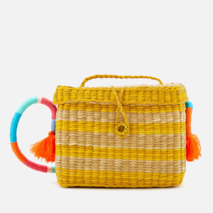 Nannacay Women's Roge Multi Thread Cross Body Bag - Off White/Yellow