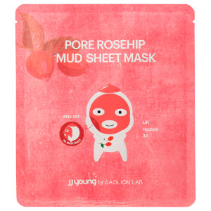 JJ Young Rosehip Mud Sheet Mask