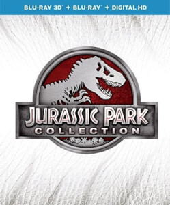 Jurassic Park 1-4 Collection 3D (Includes 2D Version)