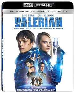Valerian & The City Of A Thousand Planets - 4K Ultra HD