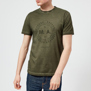 Marshall Artist Men's Garment Dyed T-Shirt - Khaki