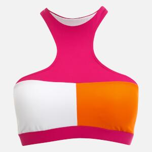Tommy Hilfiger Women's Crop Bikini Top - Pink