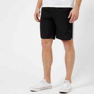 adidas Men's 3 Stripe Swim Shorts - Black