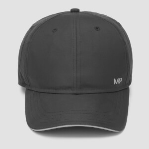 MP Reflective Peak Edge Cap - Black