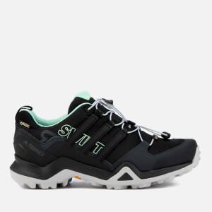 adidas Terrex Women's Swift R2 Gore-Tex Hiking Shoes - Core Black/Core Black/Ash Green