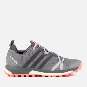 adidas Terrex Women's Agravic Hiking Shoes - Grey Three/Grey Four/Chalk Coral