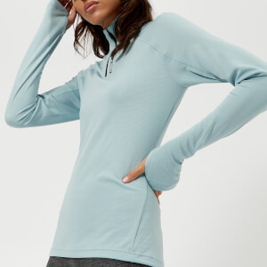adidas Terrex Women's Tracero 1/2 Zip Long Sleeve Top - Ash Grey
