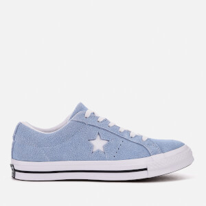 Converse One Star Ox Trainers - Blue Chill White Black 0ca89fdae