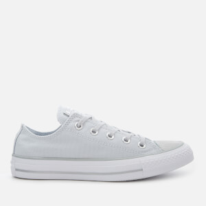 Converse Women's Chuck Taylor All Star Ox Trainers - Pure Platinum/Silver/White