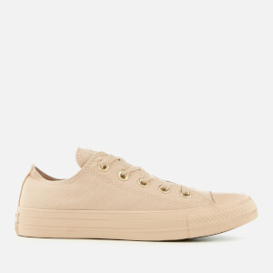 Converse Women's Chuck Taylor All Star Ox Trainers - Particle Beige
