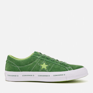 Converse One Star Ox Trainers - Mint Green/Jade Lime/White