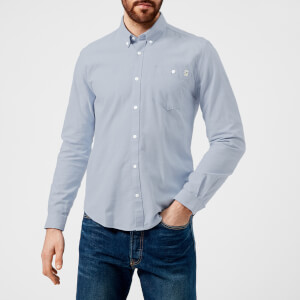 Barbour Heritage Men's Lang Long Sleeve Shirt - Blue