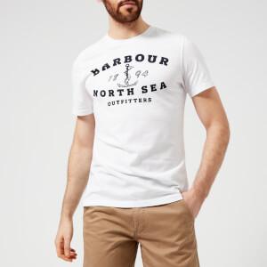 Barbour Men's Mizen Printed T-Shirt - White