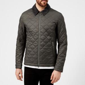 Barbour Men's Helm Quilted Jacket - Grey