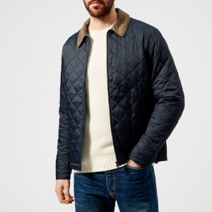 Barbour Men's Helm Quilted Jacket - Navy