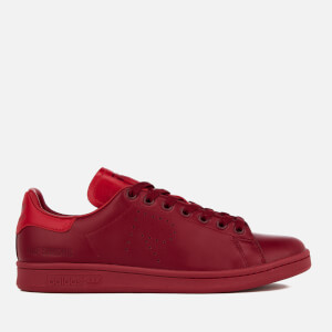 adidas by Raf Simons Men's Stan Smith Trainers - Burgundy