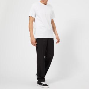 Acne Studios Men's Nash Face Logo Crew Neck T-Shirt - Optic White: Image 3