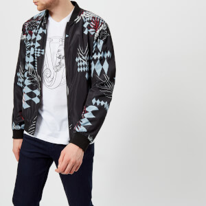 Versace Jeans Men's Printed Jacket - Nero