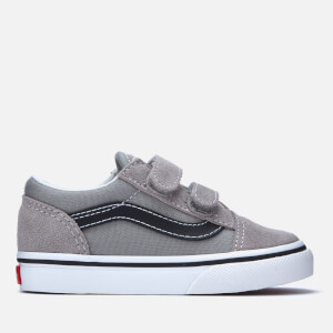 Vans Toddlers' Old Skool Trainers - Drizzle/Black