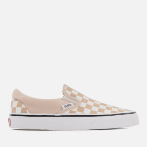 Vans Women's Checkerboard Classic Slip-On Trainers - Frappe/True White