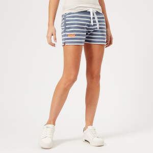 Superdry Women's Sun & Sea Shorts - Blue Fade/Optic