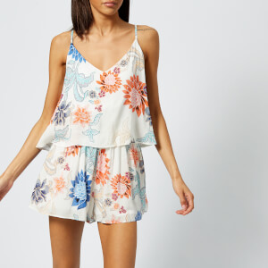 MINKPINK Women's Zion Layered Playsuit - Multi