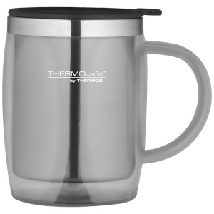 Thermos ThermoCafe Translucent Desk Mug - Steel 450ml