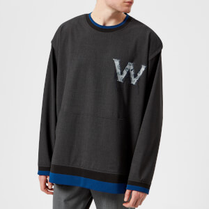 Wooyoungmi Men's W Logo Sweatshirt - Grey