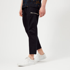 OAMC Men's Cropped Cal Pants - Navy