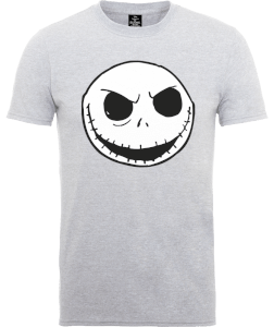 T-Shirt Disney The Nightmare Before Christmas Jack Skellington Grey