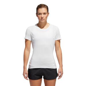 adidas Women's Fran Supernova Short Sleeve T-Shirt - White