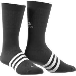 adidas Infinity 13cm Cycling Socks - White/Black