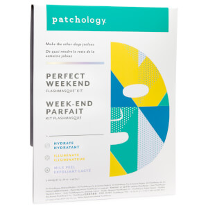 Patchology FlashMasque Hydrate, Illuminate and Milk Peel Trio (Worth $24)