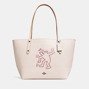 Coach 1941 Women's Coach X Keith Haring Market Tote Bag - Chalk