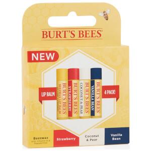 버츠비 버츠 밤스 100% 내추럴 기프트 세트 (BURT'S BEES BURT'S BALMS 100% NATURAL GIFT SET)