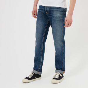 Nudie Jeans Men's Fearless Freddie Jeans - Blue Visions