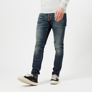 Nudie Jeans Men's Tight Terry Jeans - Dark Pacific