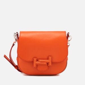 Tod's Women's Double T Mini Shoulder Bag - Orange