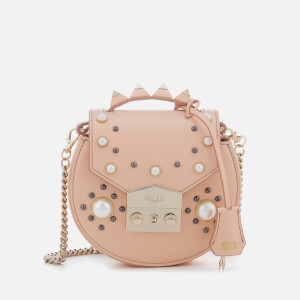 SALAR Women's Carol Pearl Bag - Peach