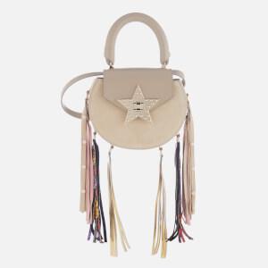 SALAR Women's Mimi Elvis Fringe Bag - Taupe: Image 1