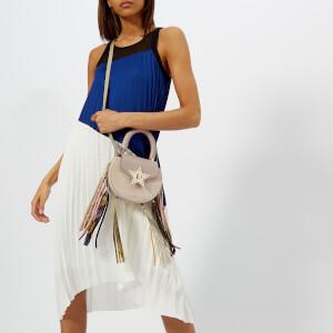 SALAR Women's Mimi Elvis Fringe Bag - Taupe: Image 3