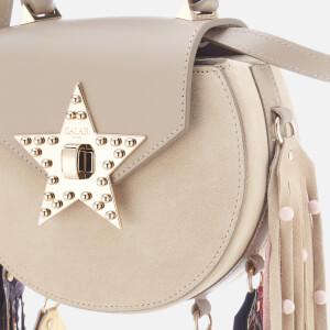 SALAR Women's Mimi Elvis Fringe Bag - Taupe: Image 4