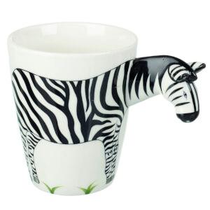 Parlane Zebra Mug - White/Black