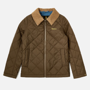 Barbour Boys' Helm Jacket - Olive