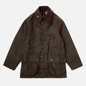 Barbour Boy's Classic Beafort Jacket - Olive