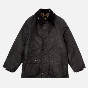 Barbour Boys' Bedale Waxed Jacket - Navy