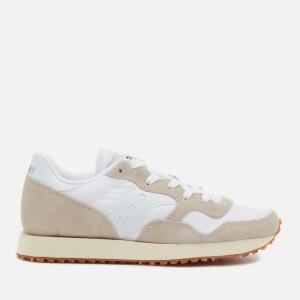 Saucony Men's DXN Vintage Trainers - White/Gum