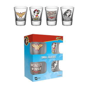 Wonder Woman 60's Pop Shot Glasses
