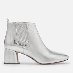 Marc Jacobs Women's Rocket Chelsea Boots - Silver